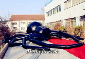 China Super Black Inflatable Spider for Halloween Party, Concert, Stage and Buildings on sale