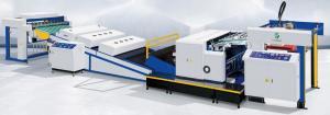 China 6200PCS/H UV Spot Coating Machine Glazing 1090x1440mm on sale