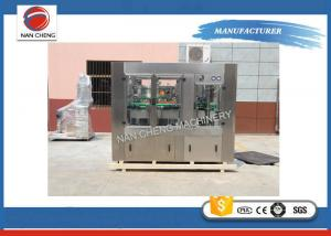 Quality Carbonated Drinks PET / Tin Can Filling Machine CE ISO9001-2008 for sale