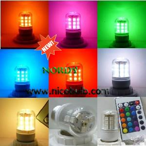 China 5W 5050SMD led corn lamp  Remote Control Dimmable E27 RGB led cor nlight on sale