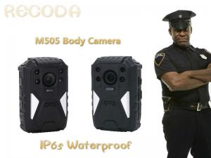 China Weaterproof police body mounted cameras Support on 1296P Resolution With IR Function on sale
