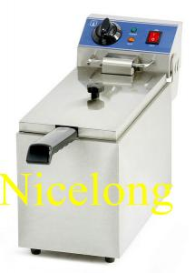 China EF-081 8L single tank electric french chips fryer on sale