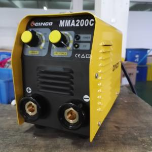 China High Performance Electric MMA Welding Machine Small Volume Light Steel Materials on sale