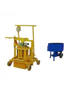China Mechanical Cement Brick Making Machine , Hydraulic Block Machine QMR2-45 on sale
