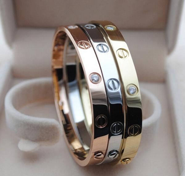 venta minorista a8be1 05379 Pulsera cristalina de imitación del tornillo del acero ...