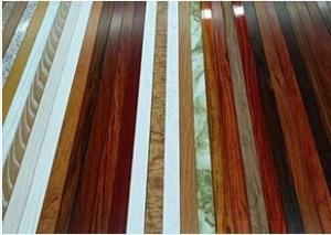 China Supply wood grain aluminium window and  door profiles on sale