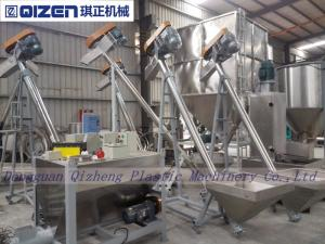 China Stainless Steel Inclined Screw Conveyor , Small Size Screw Feeder Conveyor on sale
