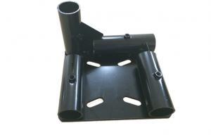 Quality 接続の ABS 上塗を施してある管および足車の車輪のための頑丈な管棚の付属品 for sale