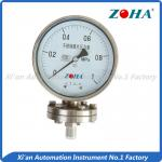 Liquid Diaphragm Seal Pressure Gauge / Installed Vertical Pressure Gauge