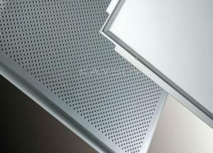 Quality Customized Imperforate Insulated Suspended Ceiling Tiles For Commercial Kitchen