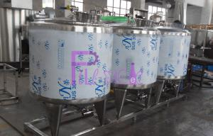 China CIP Cleaning System Soft Drink Processing Line Semi Auto With 500L Tank on sale
