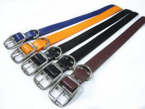 China 38mm wide strong PVC dog collar for  Pit bull and Cane Corso big dogs on sale
