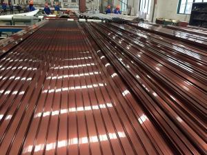 China Electrophoresis Finishing Aluminum Door Frames For Hanging Sliding Door on sale