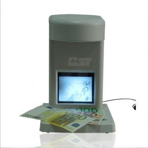 China UV Counterfeit Bill Detector Machine / Multi-Function Fake Note Detectors on sale