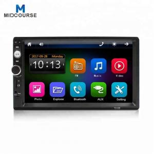 China Universal wholesale 7 inch touch screen Car Radio 2Din Car Audio Stereo Auto Audio Bluetooth 1080P FM Radio on sale