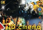 Exciting 3DOF & 6DOF 220v 7D Cinema Theater 220v Power Energy Saving