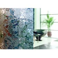 China Multifunction Acid Etched Tempered Glass , Frosted Glass Panel Solid Structure on sale