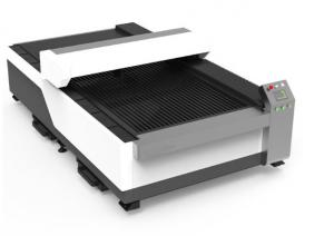 China Flatbed CnC Co2 Laser Equipment 150w 260w 280W Hybrid Metal Nonmetal Support on sale