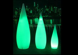 China Energy Saving  Hotel Floor Standing Lamps Art Design With Water Drop Shape on sale