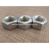 Grade 8.8 10.9 Steel Hex Nuts DIN 555 Zinc Plated And Hot Galvanizing Surface