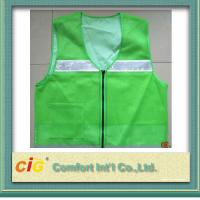 High Visibility Protective Clothing Reflective Safety Jackets , Custom Safety Vests
