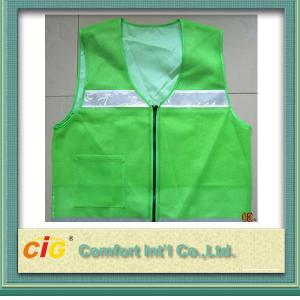 China Altas chaquetas reflexivas de la seguridad de la ropa protectora de la visibilidad, chalecos de encargo de la seguridad on sale