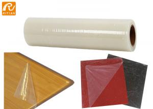 China Aniti Scratch PE Surface Protection Film Roll For Acrylic Sheet ABS Plastic Surface on sale