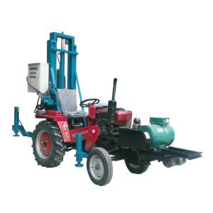 China 100m Tractor Mounted Water Well Drilling Rig Small drilling machine manufacturer on sale