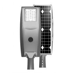 China 30 Watt Solar LED Street Light With Intelligent Controller  / Aluminum Alloy Shell on sale