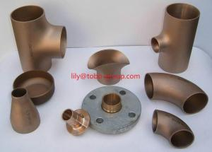 China CuNi 70/30 Buttweld Fittings on sale