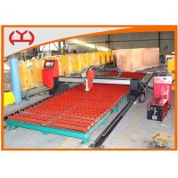 Sheet Metal Processing CNC Plasma / Flame Cutting Machine With Auto Ignition Device