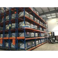 Heavy Duty Industrial Mobile Racking System with Motorized Chassis