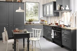 China solid wood kitchen cabinets on sale
