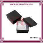 Paper box for photo album, black decorated paper album box, graduated album box  ME-TB028