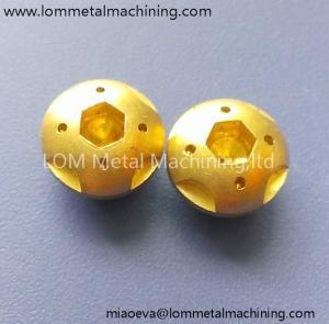 China Custom Brass plug brass components fitting brass insert on sale