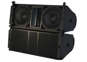 China Passive 2 - Way Full Range Dual 10 Line Array Speaker System 300 Watt Pro Audio Speaker on sale
