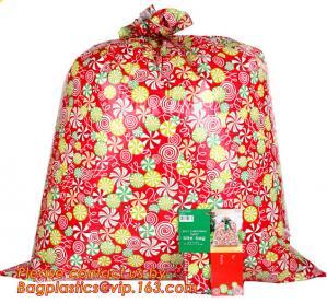 China HDPE/LDPE plastic gift bag, fashion PE BIKE GIFT BAG FOR CHRISTMAS, christmas luxury gift bag on sale