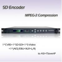 CVBS SD-SDI Input MPEG-2 Single-Channel SD Encoder RES2101