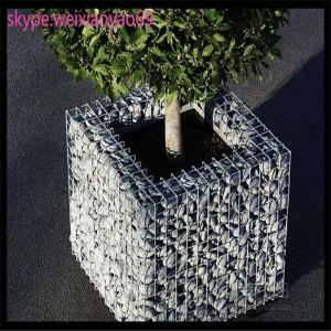 China square hole welded gabion cages, wire baskets rock retaining wall/gabion wall /gabion stone/gabion fence on sale