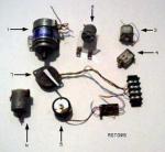 Motor de indução monofásico do alojamento de alumínio da série do ML