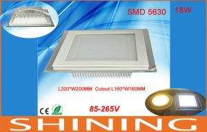 China 1800lm 18W 36pcs COB LED Downlight , Square Office Lighting Fixture on sale