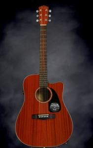 Rosewood Fretboard Fender Acoustic Electric Guitars Cd 60ce All
