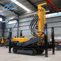China FY-200 Tracked Percussive Rotating Rock Boring Machine DTH Air Drilling Rig For Water Well on sale