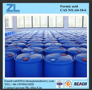 China Textile industry 85% Formic Acid producer on sale