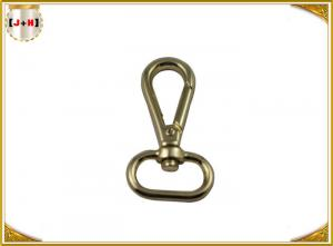China Classic Zinc AlloySwivel Snap Hooks Handbag Brass Clips Hardware Accessories on sale
