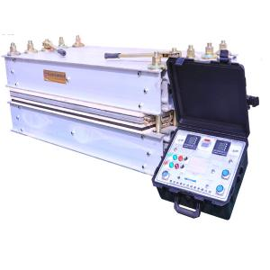 China 16.5kw Conveyor Belt Vulcanizing Machine Linear Type 1 Year Warranty on sale