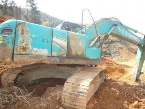 sk210lc-8 used kobelco japan excavator dig machiner
