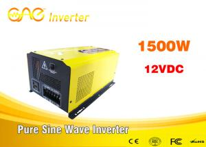 China ONE dc ac 110v 220v off grid solar inverter pure wave inverter 3000w 24v with charge on sale