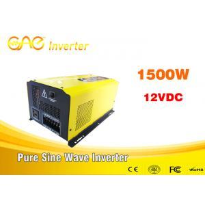 China ONE dc ac 110v 220v off grid solar inverter pure wave inverter 3000w 24v with charge on sale