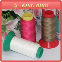 Low Shrinkage White 100% Bonded Nylon Thread Sewing For Weaving